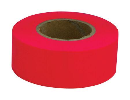 C.H. Hanson Fluorescent Red Non-adhesive PVC