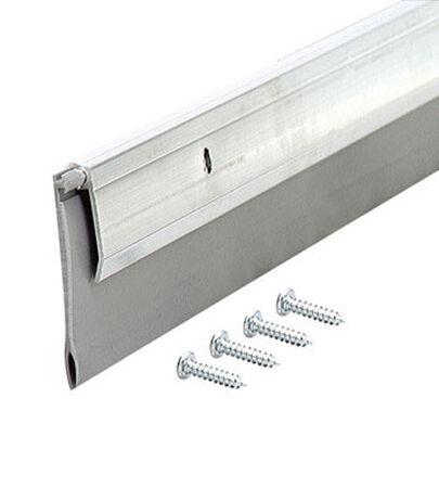 M-D Building Products Door Bottom Aluminum Door Sweep 2 in. x 36 in. L Silver