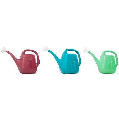 Bloem 2 gal. Resin Assorted Watering Can