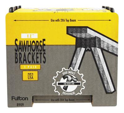 Fulton Spee Dee Plastic Sawhorse Brackets 2 in. H