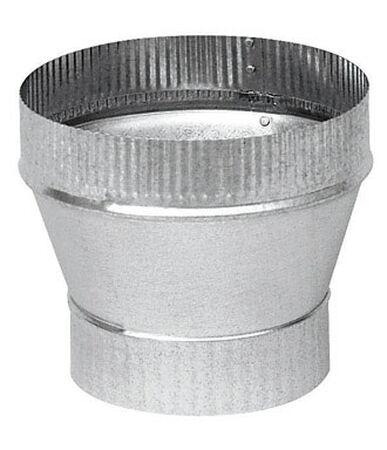 Imperial 5 in. Dia. x 6 in. Dia. Galvanized Steel Stove Pipe Increaser