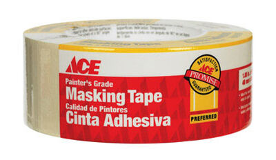 Ace 1.88 in. W x 60 yd. L General Purpose Painter's Tape Regular Strength Beige 1 pk