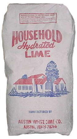 Hydrated Lime 50 lb