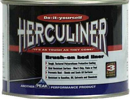 Herculiner Truck Bed Coating 1 qt. Black Can