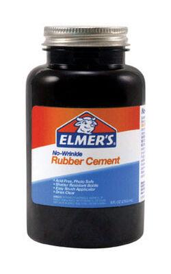 Elmer's Rubber Cement Adhesive 8 oz.