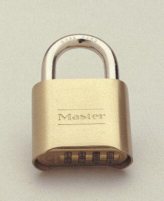 Master Lock 2 in. Double Locking Steel Combination Padlock