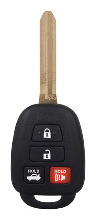 DURACELL Advanced Remote Automotive Replacement Key Toyota HYQ12BDM 4-Button G Chip Remote Head