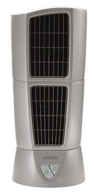 Lasko Tower Fan 14 in. H x 6 in. L x 6 in. W 3 speed Oscillating AC Gray
