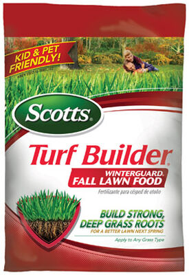 Scotts Turf Builder Winterguard Lawn Food Fall 5000 sq. ft. Granules 32-0-10