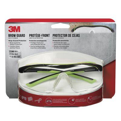 3M Performance Multi-Purpose Safety Glasses Antifog Clear Lens Black Frame Blister Pack