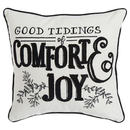 "18"" Good Tidings Pillow"
