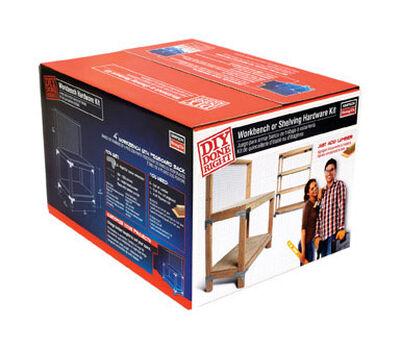 Simpson Strong-Tie Galvanized Steel Shelf Hardware Kit 18 Ga.