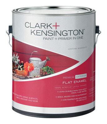 Clark+Kensington Exterior Exterior Acrylic Latex Enamel Paint Tintable Base 1 gal.
