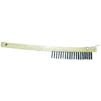 Allway Wire Brush with Scraper 13-3/4 in. L