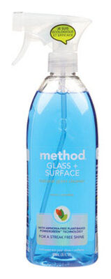 Method Mint Scent Glass and Surface Cleaner 28 oz. Liquid For Multi-Surface
