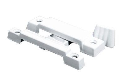 Prime-Line Painted White Sash Lock Die-Cast Zinc 1