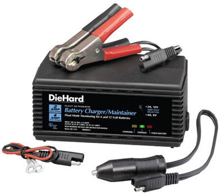 DieHard Automatic Battery Charger/Maintainer 6/12 volts 2 amps