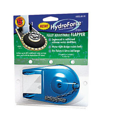 HydroForce Adjustable Flapper 2 in. H x 2 in. L Silicone
