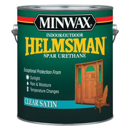 Minwax Helmsman Satin Clear Spar Urethane 1 gal.
