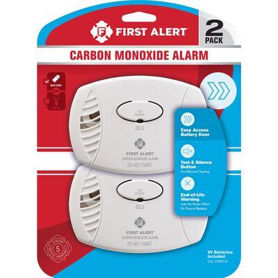 First Alert Battery-Powered Electrochemical Carbon Monoxide Detector