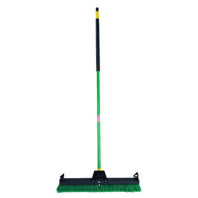 Quickie Smooth Surface Push Broom 24 in. W x 60 in. L x 3 in. L