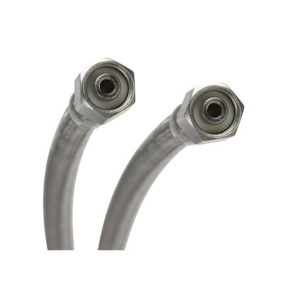 Fluidmaster 1/4 in. Compression x 1/4 in. Dia. Compression Stainless Steel 120 in. Supply Line