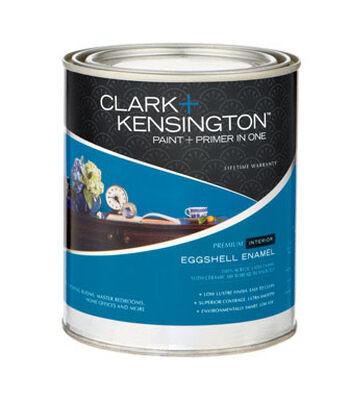 Clark+Kensington Interior Acrylic Latex Paint & Primer Designer White 1 qt.