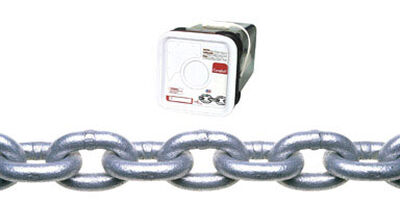 Campbell Chain Oval Link Proof Coil Chain 100 ft. L x 1/4 in. Dia. Silver Carbon Steel