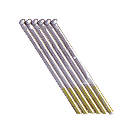 Grip-Rite 2-1/2 in. L 15 Ga. Electrogalvanized Angled DA Finish Nails 1 000 pc.