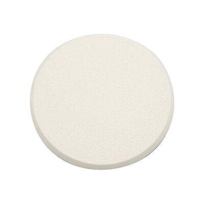 Prime-Line Vinyl Door Knob & Wall Shield 3-1/4 in. H x 5/16 in. L x 3-1/4 in. W White