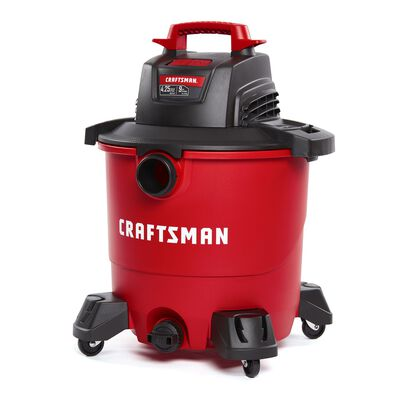 Craftsman 9 gal. Corded 4-1/4 hp 110 volts Wet/Dry Vacuum