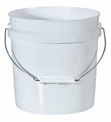 Leaktite Plastic Bucket 2 gal. White