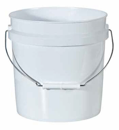 Leaktite Plastic Bucket 2 gal. White