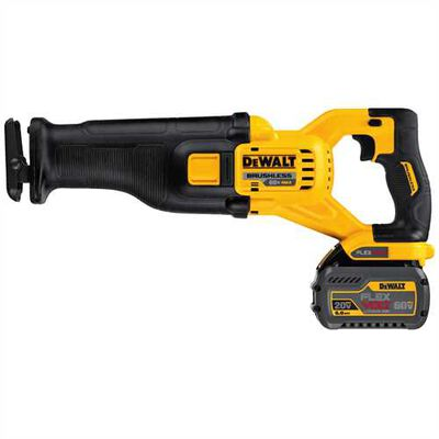 FLEXVOLT(TM) 60V MAX* Brushless Reciprocating Saw (2 Batteries)