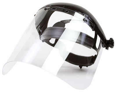Forney Face Shield 15-1/2 in. W x 8 in. L
