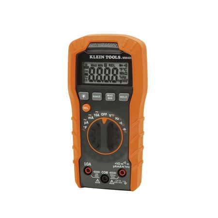 Klein Tools Digital Multimeter Orange and Black