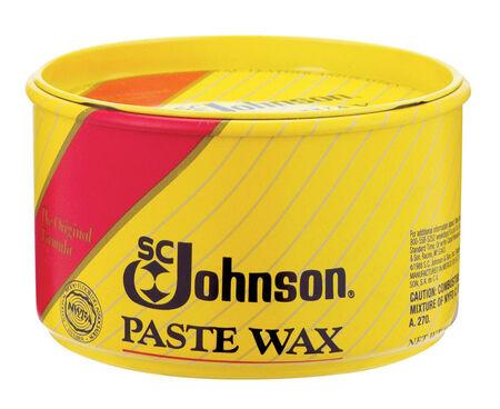 SC Johnson Paste Wax Floor Wax Hard 16 oz.