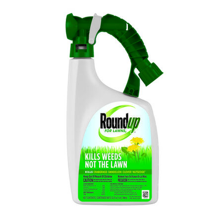 Roundup For Lawns Weed Killer Liquid 32 oz.