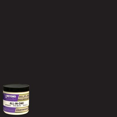 BEYOND PAINT Matte Charcoal All-In-One Paint Acrylic 1 pt.