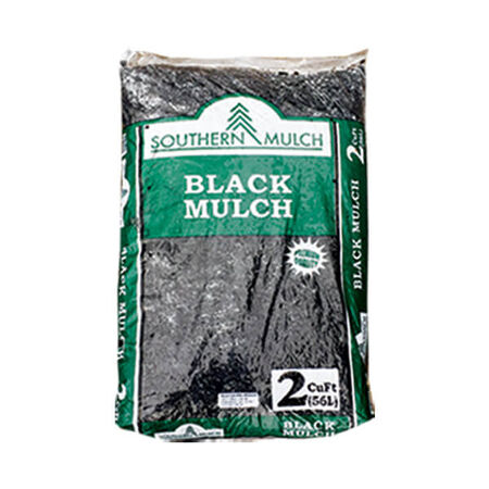 Mulch Black 2 Cubic Ft