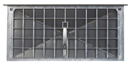 Air Vent 7.8 in. H Aluminum Foundation Vent