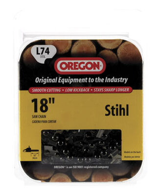Oregon Chainsaw Chain 74 links 18 in. For Stihl 35 SL