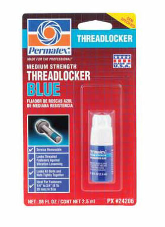 Permatex Liquid Threadlocker .08 oz.