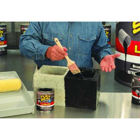 Flex Seal Satin Black Liquid Rubber Sealant Coating 1 gal.