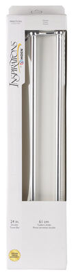 Moen Preston Chrome Double Towel Bar 24 in. L Zinc