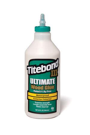 Titebond III Ultimate Waterproof Tan Wood Glue 1 qt.