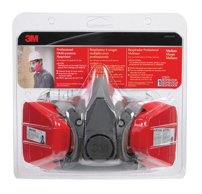 3M Professional Half-Face Mask Respirator 1 pk