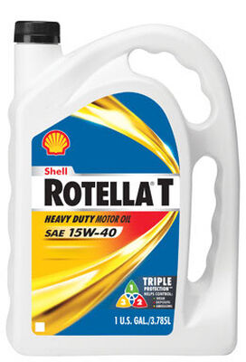 Shell Rotella T SAE 15W40 Motor Oil 1 gal.