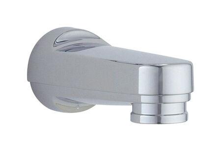 Delta Carlisle Series 1-Handle Chrome Oversided Bath Diverter Spout