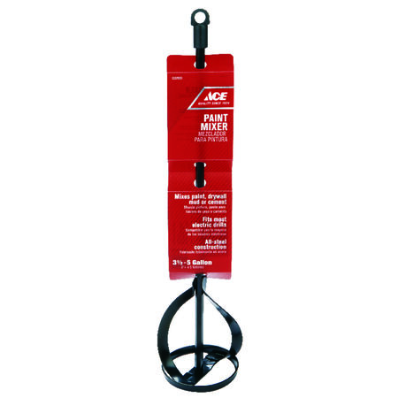 Ace 2.75 in. W x 16 in. L Steel Paint Mixer For 1 and 5 Gallon Containers
